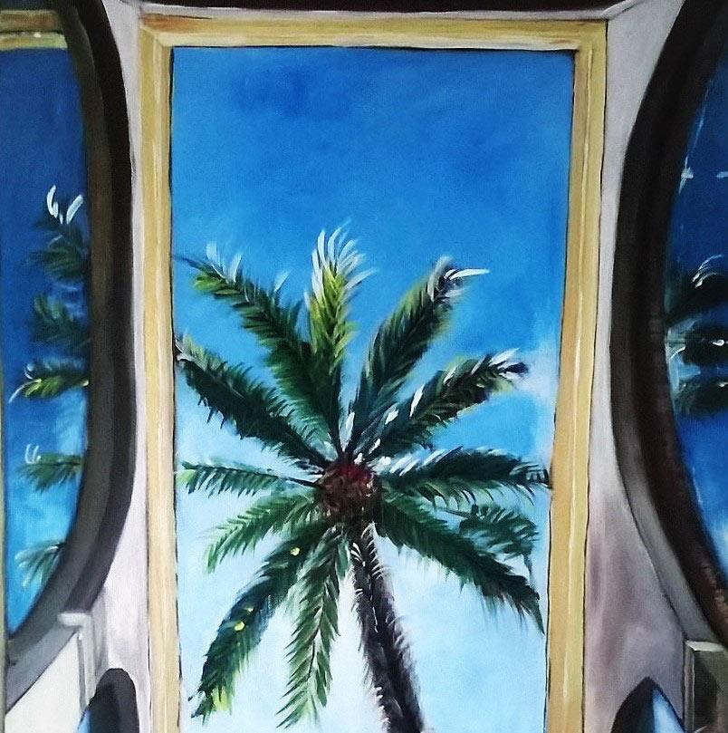 Palme im Himmel